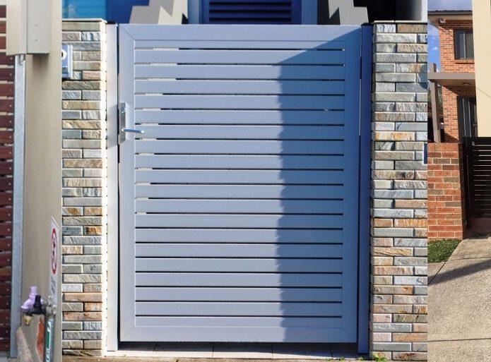 aluminium slat gates sydney